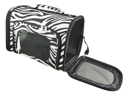 Zebra Pet Carrier Zebra Stripe Pet Carrier Cat