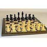 Black French Chess Set
