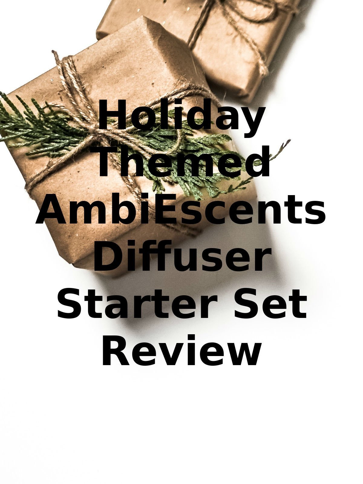 Review: Holiday Themed AmbiEscents Diffuser Starter Set Review on Amazon Prime Video UK