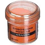 Ranger Embossing Powder, 1-Ounce Jar, Orange (Color: Orange, Tamaño: 1 oz)