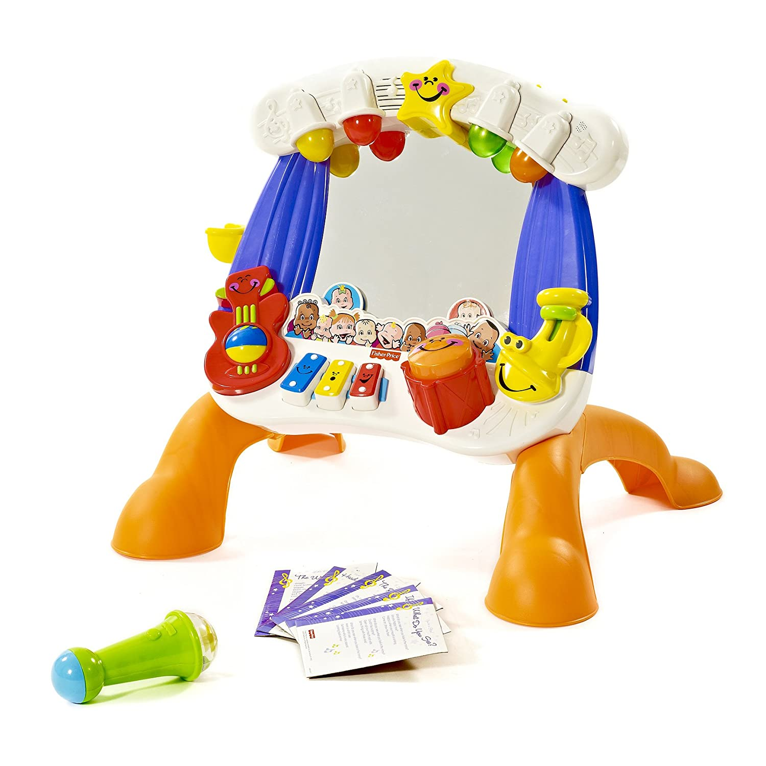 Review: Fisher-Price Little Superstar Sing-Along Stage | babyproductsforme