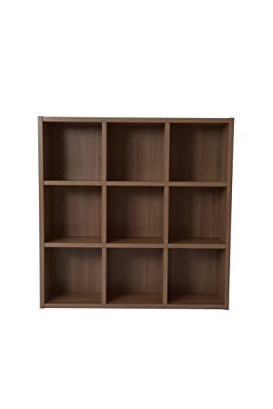 Boraam 70080 Techny Collection Tobey Hollow Core Bookcase, Light Oak