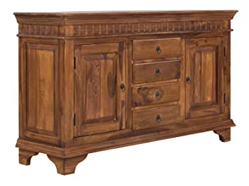 massivum Sideboard Ceylon 150x90x45 cm Palisander braun gewachst