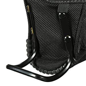 ToughBuilt - Project Pouch/Hammer Loop - Heavy-duty Construction, Custom Tape Measure Clip, 6 Pockets and Loops, Extreme-duty hammer loop (Patented ClipTech Hub & Belts) (TB-CT-24) (Tamaño: Project Pouch / Hammer Loop)