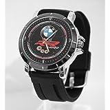 Bmw HP4 S1000RR Sport Bike Logo Custom Watch Fit Your Bike (Color: Black)
