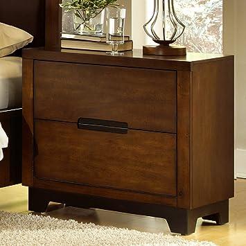 Progressive Furniture Portland 2 Drawer Nightstand