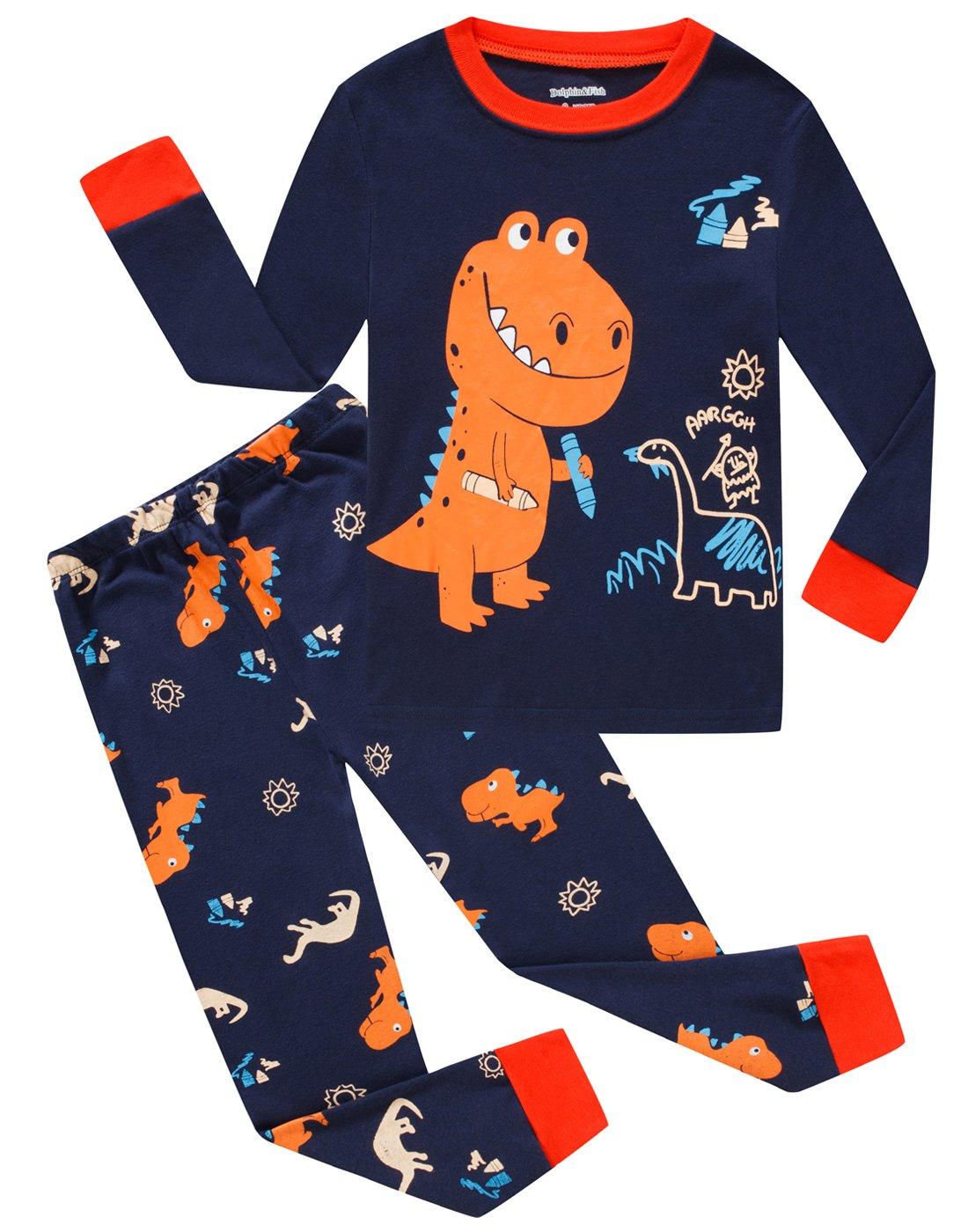 Cotton Little Boys Pajamas