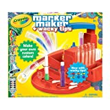 Crayola Marker Maker Wacky Tips (Color: Yellow, Tamaño: Value not found)