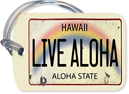 Hawaiian Luggage Tags Hawaiian Luggage Tag