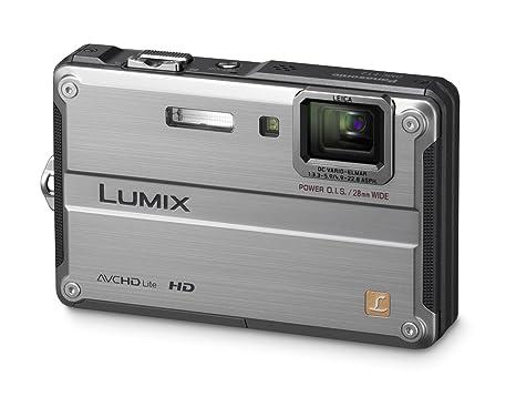 Panasonic LUMIX DMC-FT2EG-S Appareil photo numérique 14 méga pixels / Zoom optique x 4 / Ecran 6,8 cm / Stabilisateur d'image / Etanche 10 m Argent (Import Allemagne)