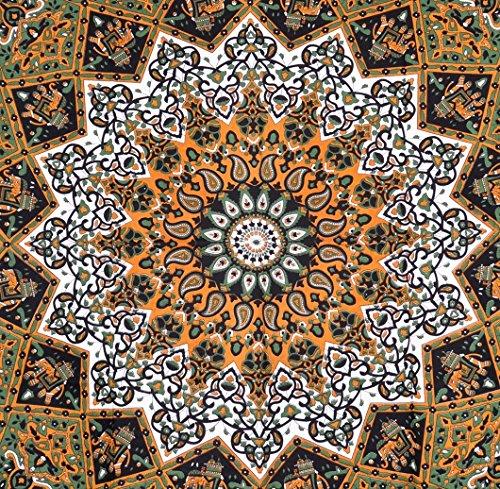 Clásico diseño de elefante Glorafilia, Hippie de la India de colgante de pared, diseño de flores de colcha, diseño de dormitorio decoración playa - AndExports