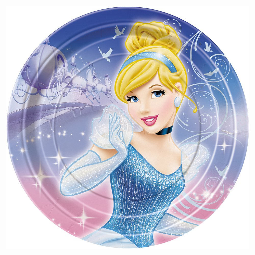 Throw an enchanted Cinderella party! Includes 8 Cinderella paper plates. Measures 7 inches across.  sc 1 st  Birthday Party Themes & Cinderella Paper Plates | Birthday Wikii