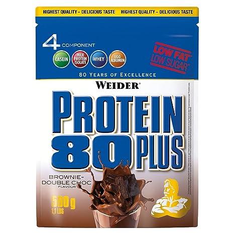 Weider Protein 80 plus 2 x 500g Beutel 2er Pack Schoko