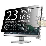 Xianan Protect Computer Privacy - 23 Inch 16:9 Aspect Ratio Computer Privacy Screen Protector for Widescreen Monitor - Anti-Glare & Privacy Filters (Color: for 23