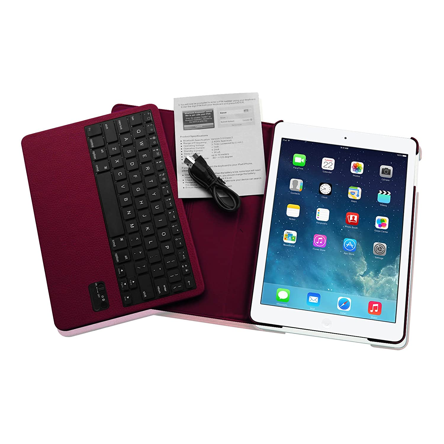 how to connect keyboard to ipad 2
