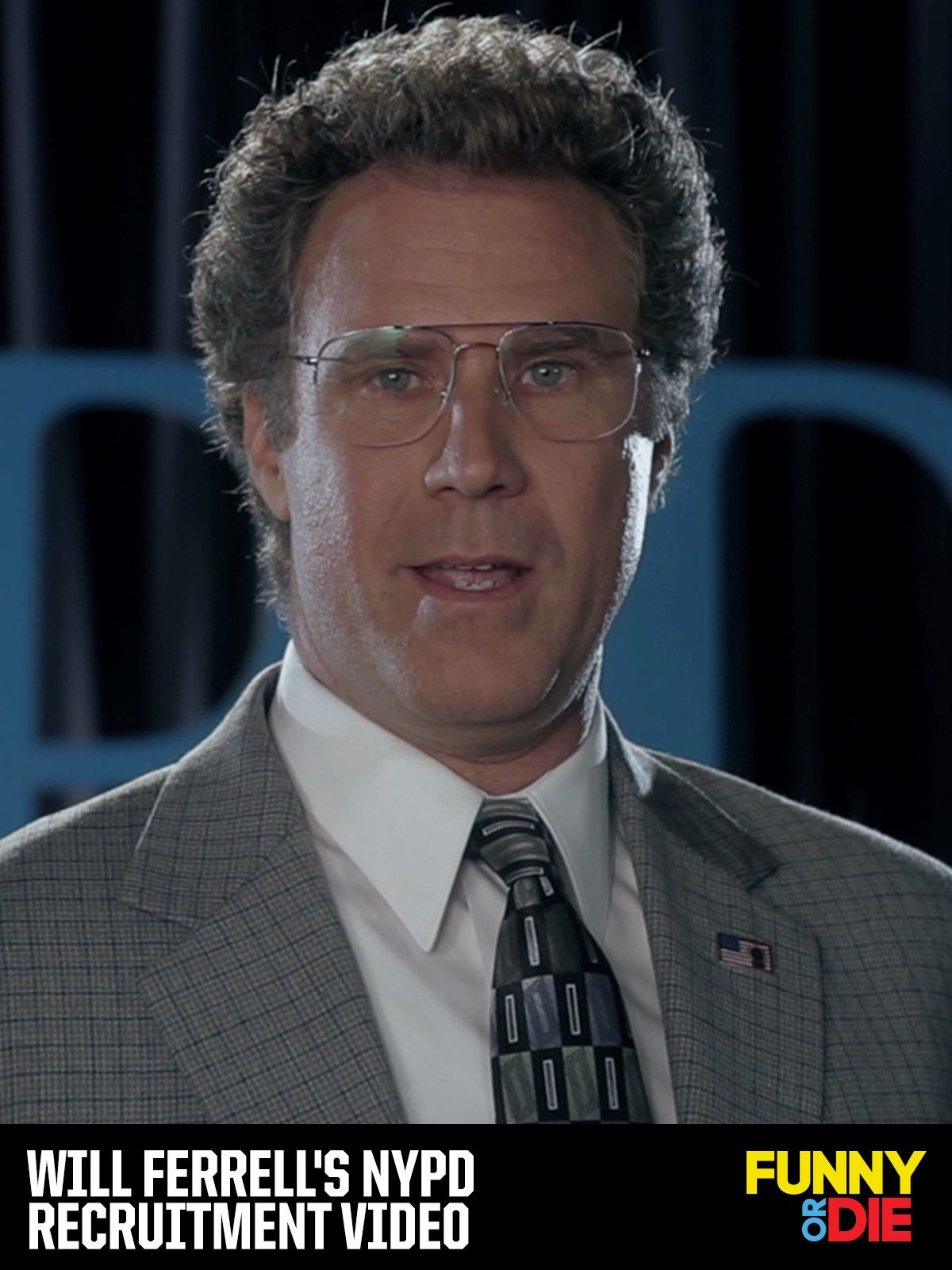 Will Ferrell's NYPD Recruitment Video