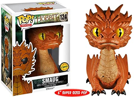 "The Hobbit 3 Funko POP 6"" Vinyl Figure: Smaug Yellow Eyes (Chase Variant)"