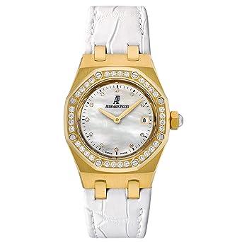 Audemars Piguet Lady Royal Oak 67601BA.ZZ.D012CR.03 18k Quartz Women's Watch