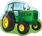 Mayflower Distributing Mayflower Distributing Farm Tractor Shaped Jumbo Foil Balloon