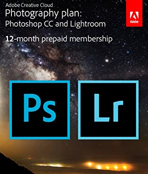 Adobe Creative Cloud Photography Plan