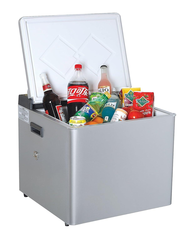Porta Gaz 62734 Silver 3-Way Portable Gas Refrigerator - 51 Quart