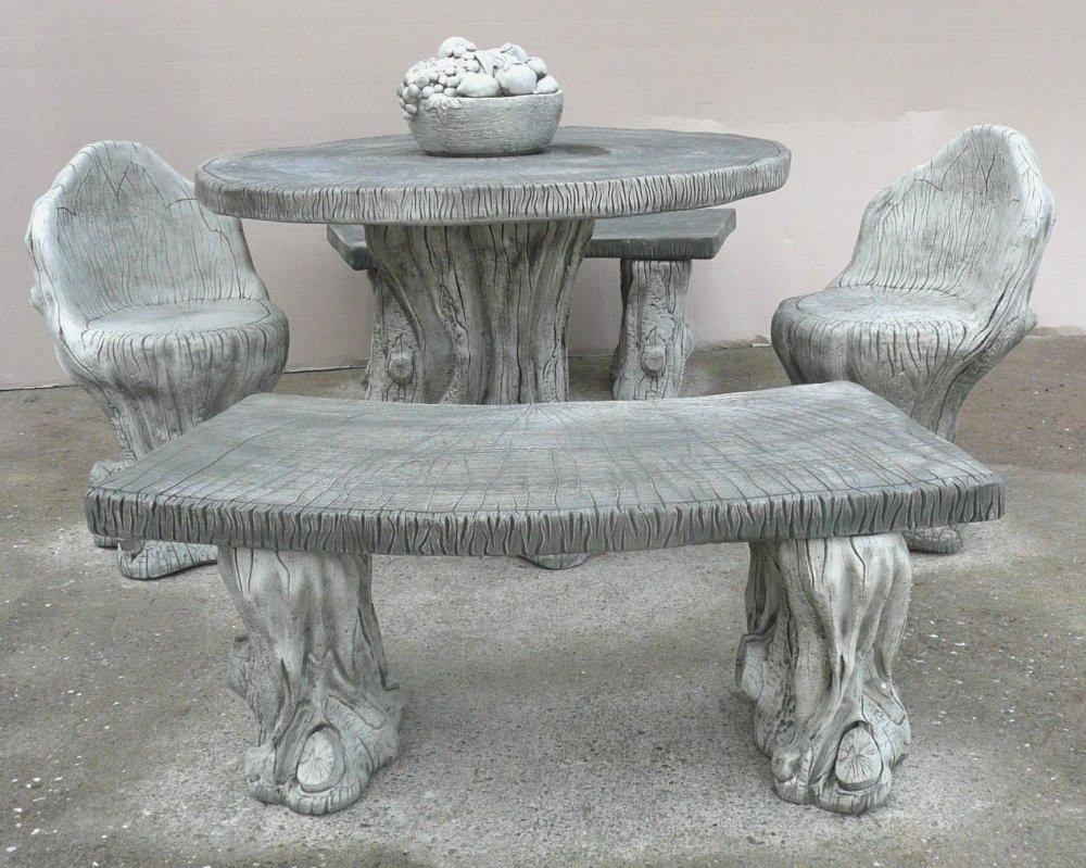 Gartenmöbel, Design Woodlands &Stone Bänke Tisch / Terrasse / Veranda online bestellen
