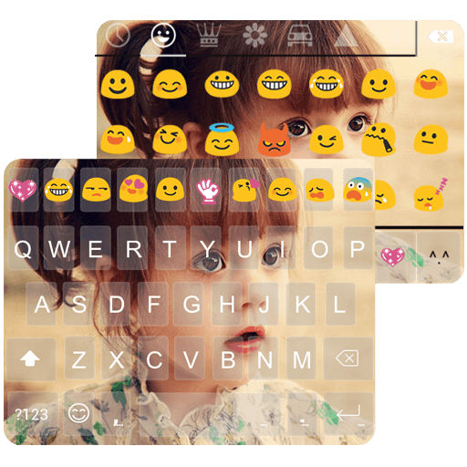 cute-photo-emoji-akaeyboard-theme