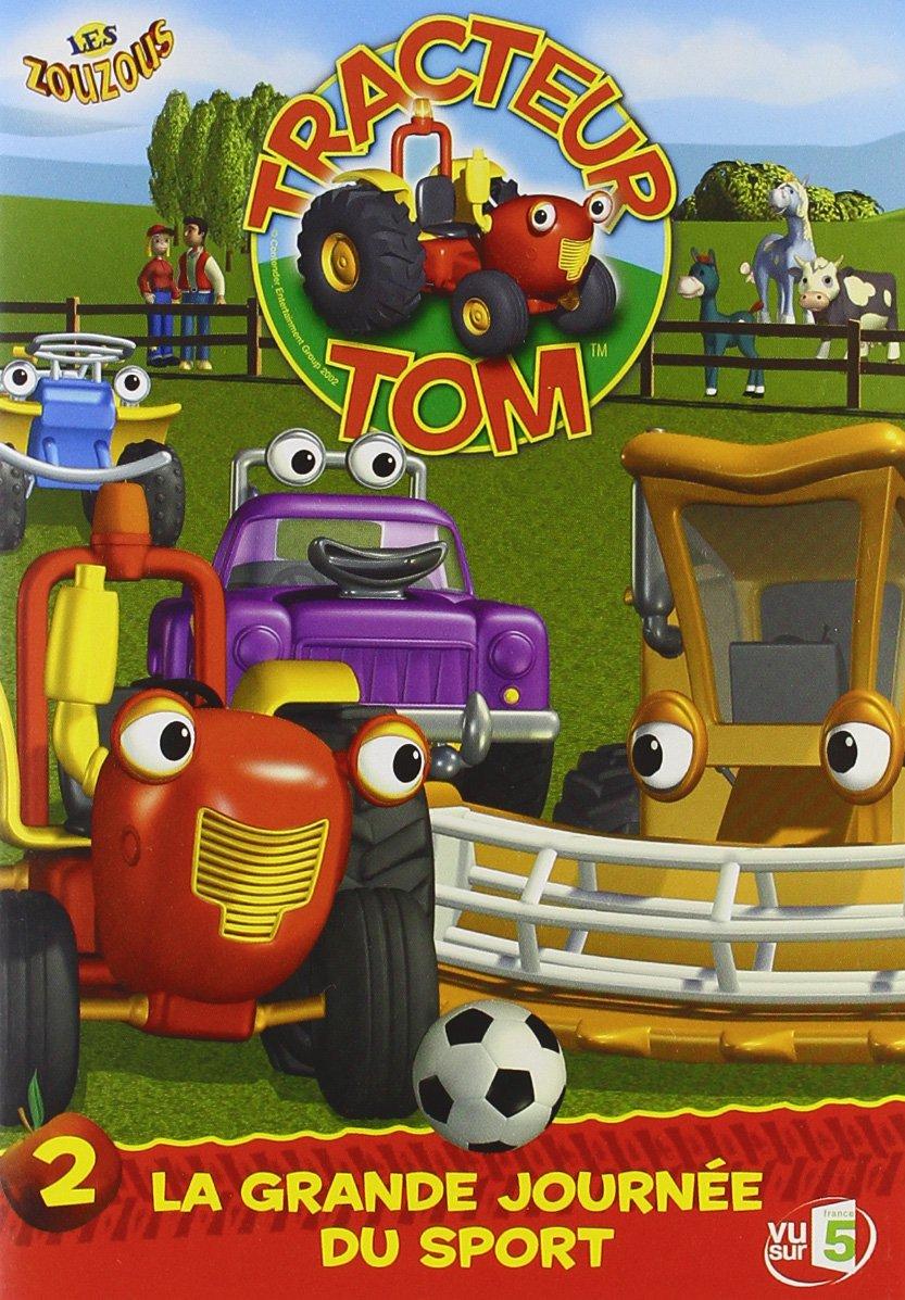Dvd tracteur tom - Tracteur tom dessin anime ...