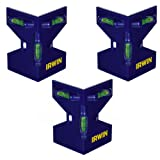 IRWIN Tools Magnetic Post Level (Pack of 3) (3)