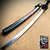 Japanese Samurai Sword KATANA High Carbon Steel Ninja Blade Dragon KNIFE Tang + free eBook by ProTactical'US