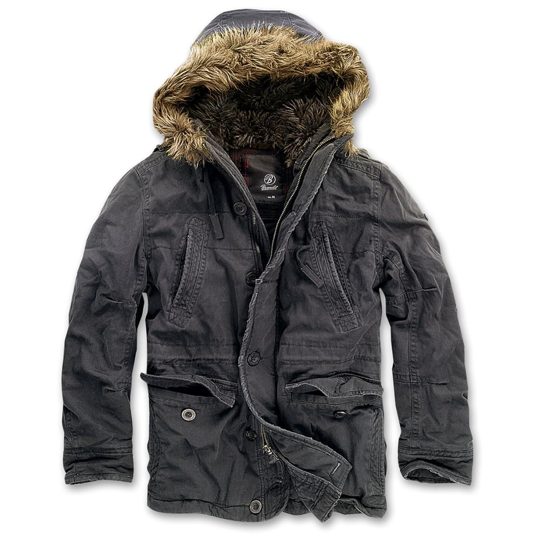 Männer und Herren Winterjacke Vintage Explorer Ich trage Schwarz bis… (mit Rückendruck) bestellen