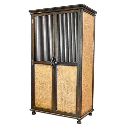 Armario Madera de bambú 97 x 60 x 180 cm