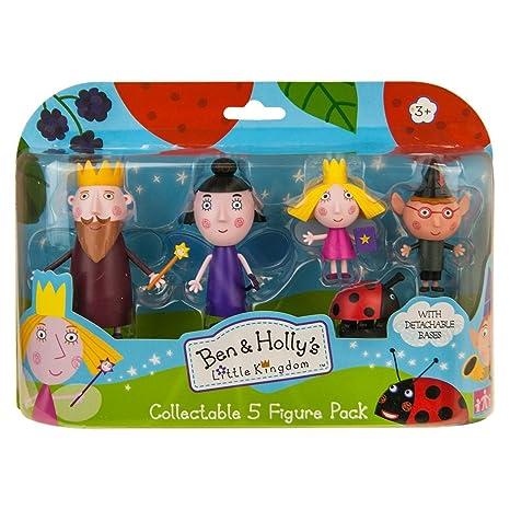 Le Petit Royaume de Ben et Holly – Coffret Personnages – 5 Mini Figurines
