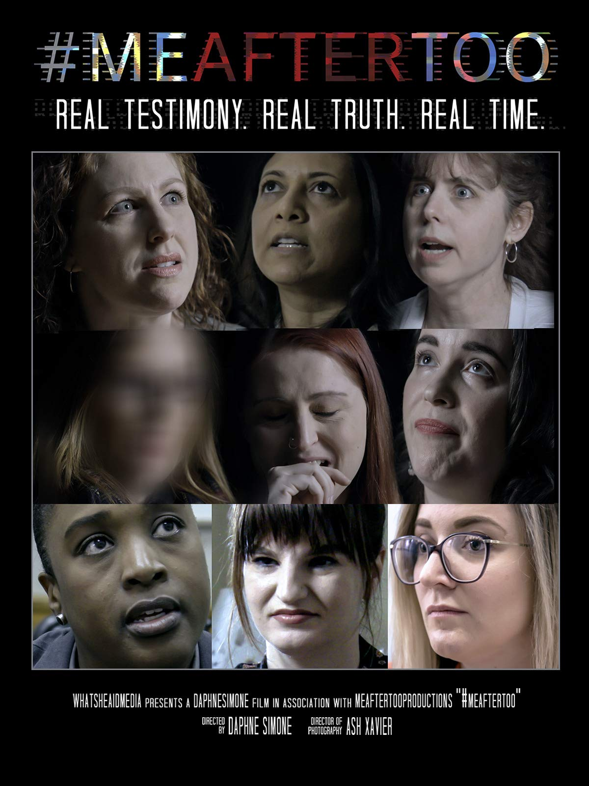 #MeAfterToo: Real Testimony. Real Truth. Real Time.