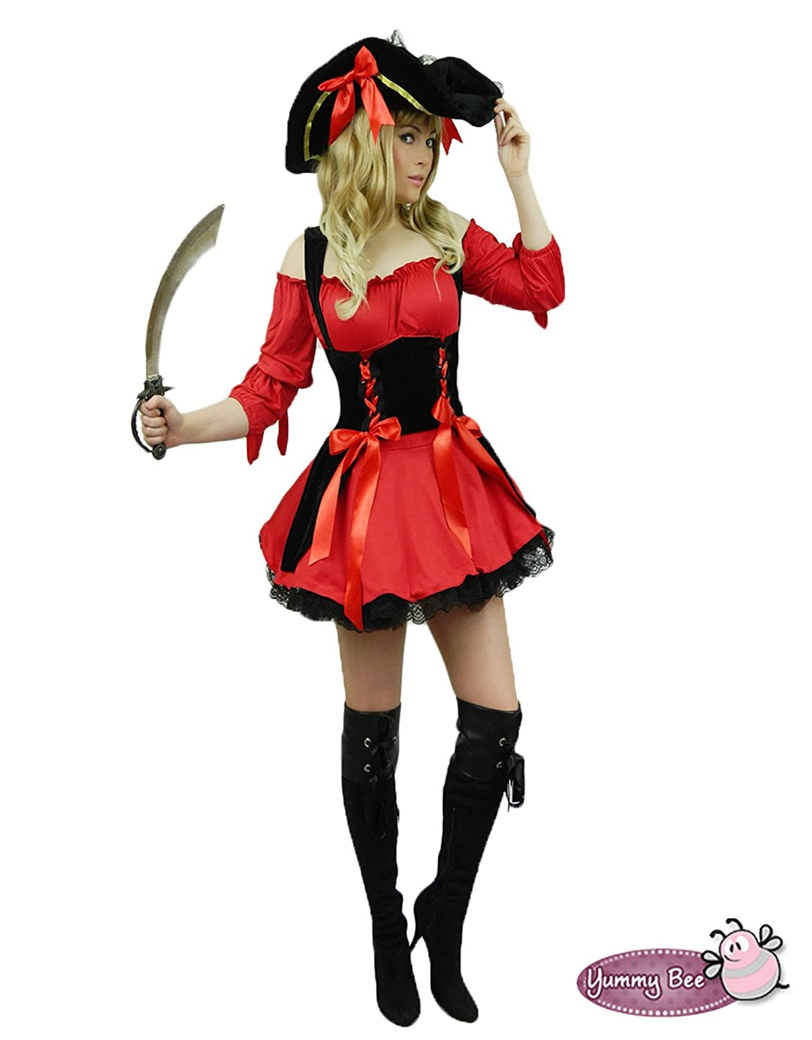Pirate Wench Fancy Dress Outfit