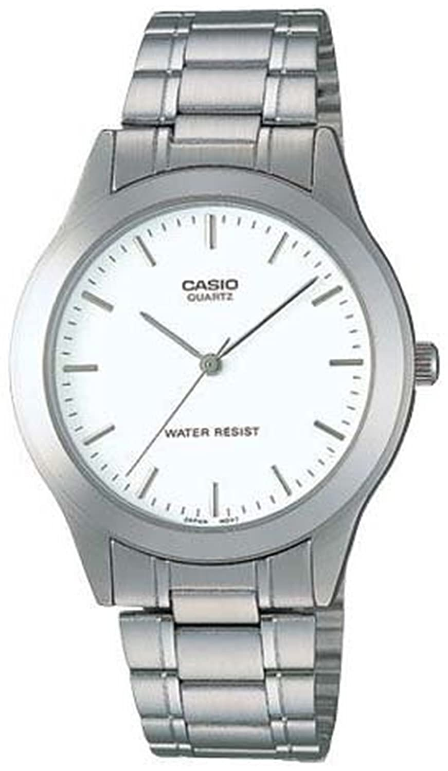 Casio Steel Bracelet Men's watch #MTP1128A-7A casio mtf 115l 7a