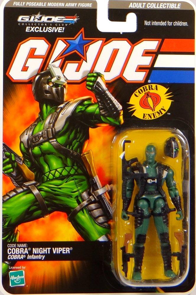 G.I. Joe Cobra Night Viper Cobra Infantry – Collector`s Club Exclusive – Actionfigure 2008 von Hasbro kaufen