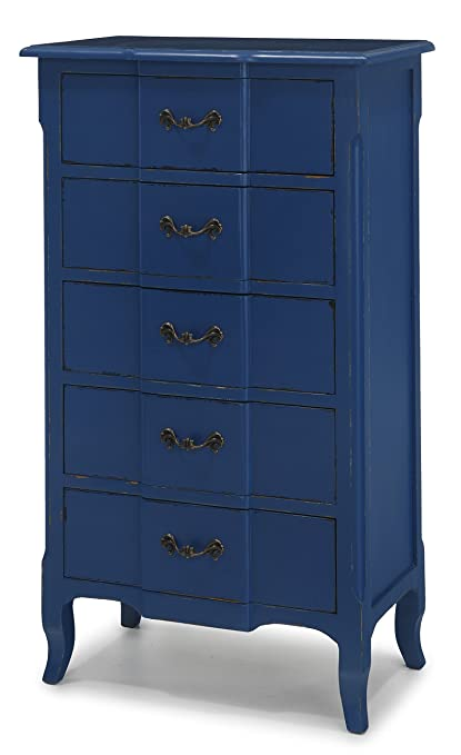 Fivy Blue Chest of drawers