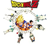Dragonball Z Crunchyroll Anime Charm Link Bracelet With Gift Box from Outlander Gear