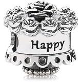Pandora Women's 791289 Happy Birthday Charm
