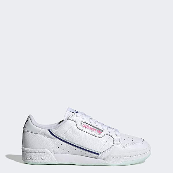 adidas Continental 80 Shoes Women's, White, Size 5.5 (Color