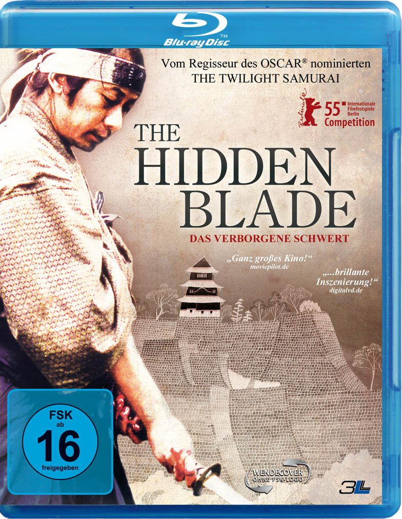 The Hidden Blade - Das verborgene Schwert, Blu-ray