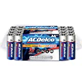 ACDelco AA Batteries, Super Alkaline AA Battery, High Performance, 40 Count Pack