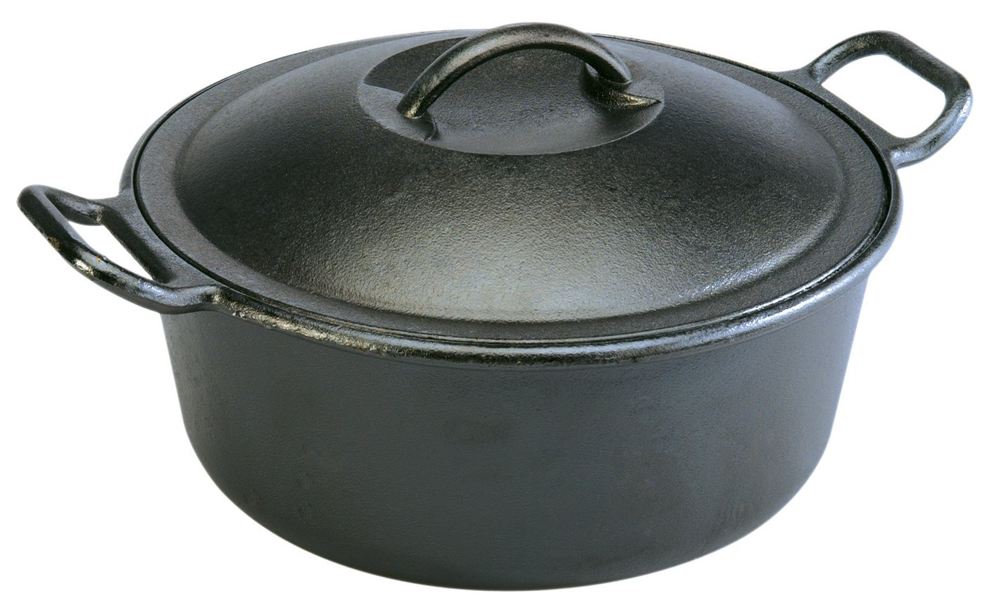 lodge 4 quart cast iron dutch oven pro logic p10d3 black ebay. Black Bedroom Furniture Sets. Home Design Ideas