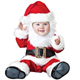 Hug Me Toddler Baby Infant Santa Claus OneSize Dress up Toddler Christmas Costume (95CM (13-18 Months)) (Color: Red, Tamaño: 95CM (13-18 Months))