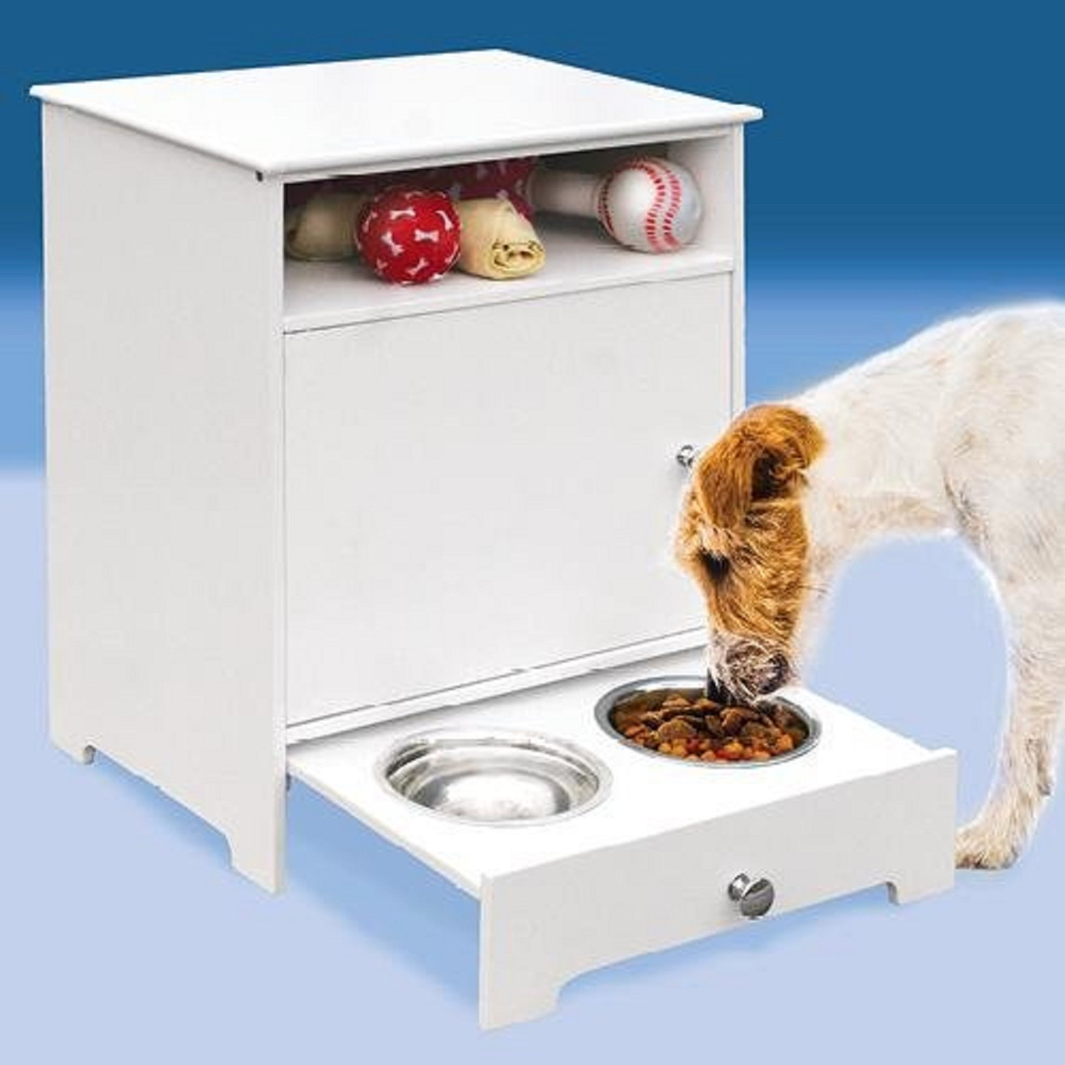 Wooden Dog Food Storage Containers