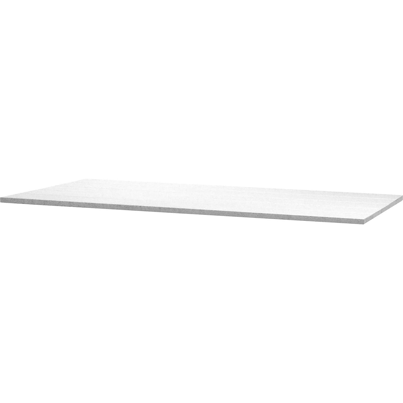 4Seasons Outdoor Rivoli Tisch Concept Alu-Lamellen mit Alugestell weiß 170x95cm kaufen