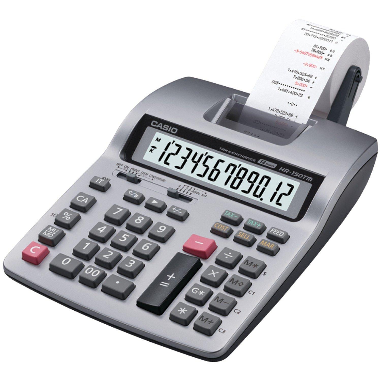 Casio Portable Printing Calculator Hr 150tm Price In
