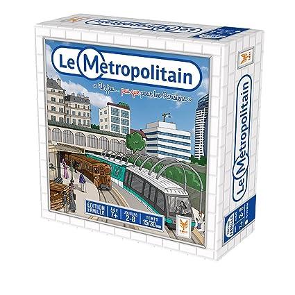 Topi Games 259001 Jeu d'ambiance - Métropolitain