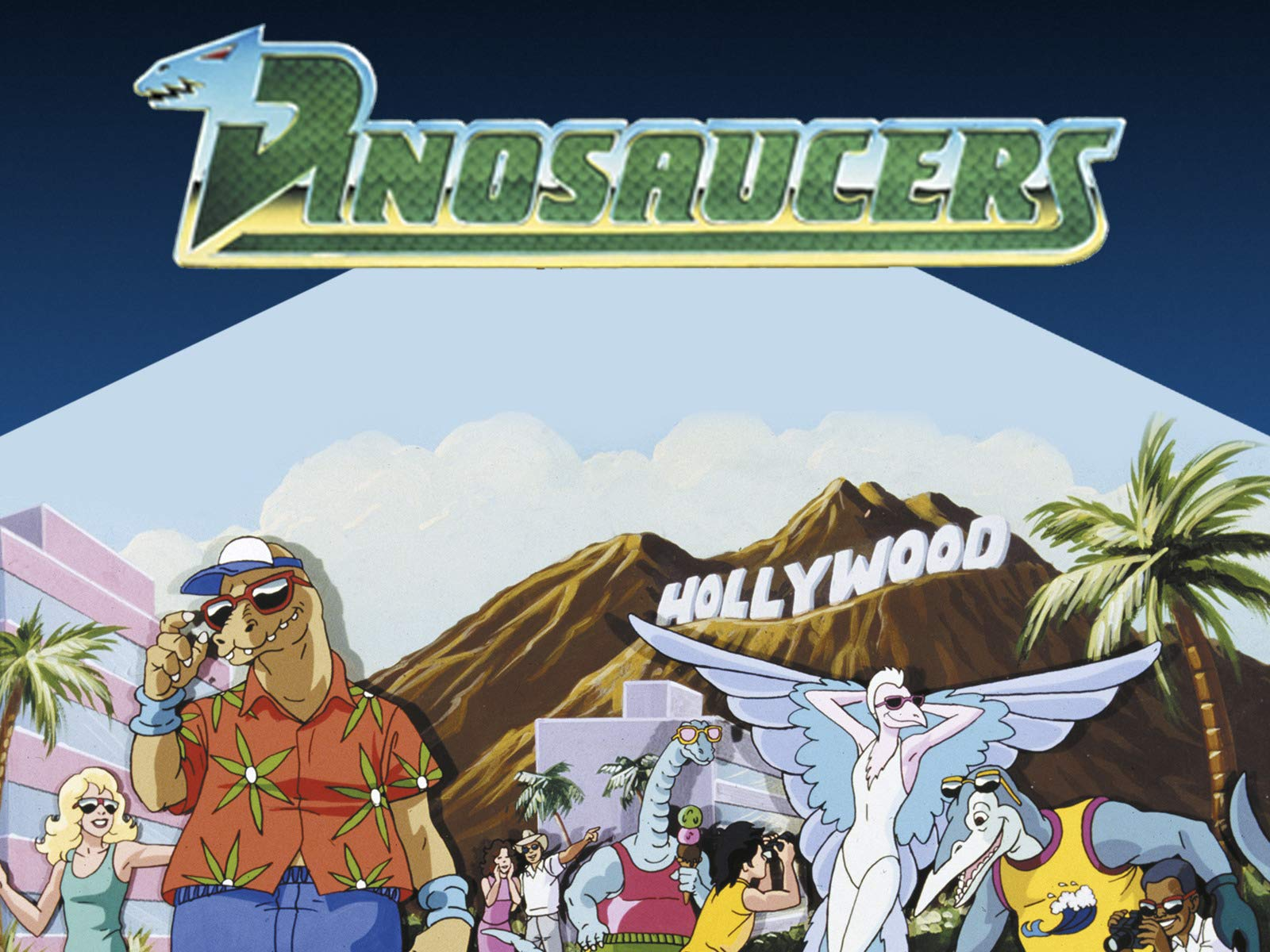DINOSAUCERS on Amazon Prime Instant Video UK